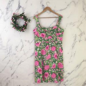 Dressbarn Floral Empire Waist Shift Dress